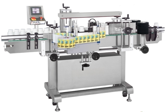 LabelOn Basic 610 Front and Back with Wrap Labeler