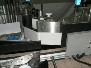 Wrap Around Label Dispensing Point