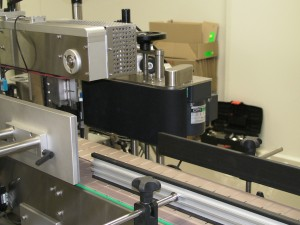 Wrap around Labeling Module and Backing Plate