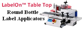 Table Top Round Bottle Labeler